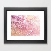 桜, さくら Framed Art Print