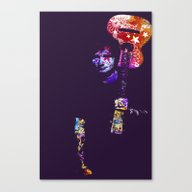 Canvas Print featuring Sing by Deff