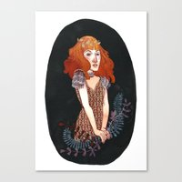 Strangeness And Charm Canvas Print