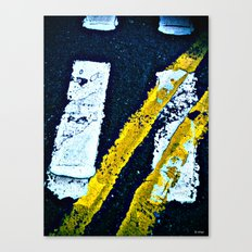 Road Markings Canvas Print