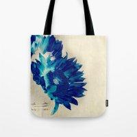 Sapphire Petal Tote Bag