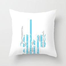 Stripe Scull Throw Pillow