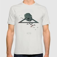Dead Mens Fitted Tee Silver SMALL