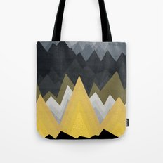 Gold In The Mountains Tote Bag