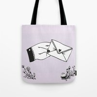 Snail Mail Love Tote Bag