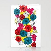 Scandinavian Flowers Stationery Cards