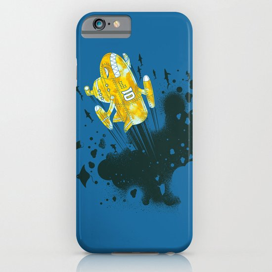 yellow battleship iPhone & iPod Case