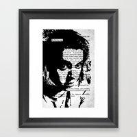 He Led The Way Framed Art Print