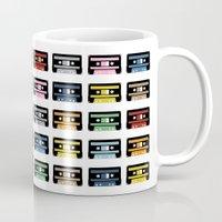 80 Rainbow Tapes Mug