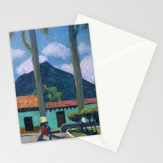 Antigua Park Bench Stationery Cards