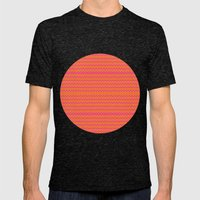 Cha-Cha Mens Fitted Tee Tri-Black SMALL