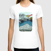 Landscapes / Nr. 4 Womens Fitted Tee White SMALL