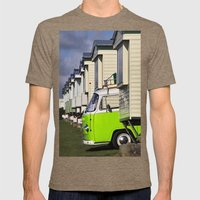 Vdub VW Bus Mens Fitted Tee Tri-Coffee SMALL