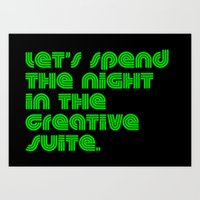 Cozy Creative Suite. Art Print