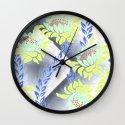 Dancing Protea Wall Clock