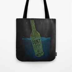 Irish Proverb on Bottle Tote Bag