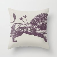 Be Not Afraid Throw Pillow