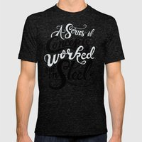 A Series Of Concepts Wor… Mens Fitted Tee Tri-Black SMALL