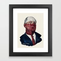 Vladimir Nabokov Framed Art Print