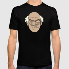 Faces of Breaking Bad: Hector Salamanca SMALL Mens Fitted Tee Black