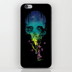 THE FORBIDDEN BUTTERFLIES iPhone & iPod Skin