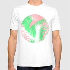 Tropical N Mens Fitted Tee White SMALL