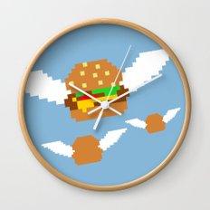 Food Flight Wall Clock
