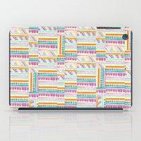 multicoloured AZTEC + iPad Case