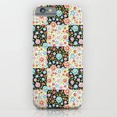 Millefiori Floral Patchwork Slim Case iPhone 6s