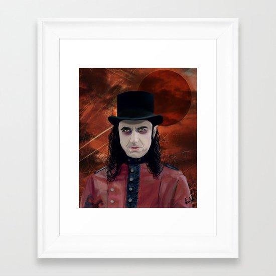 Fernando Moonspell Framed Art Print