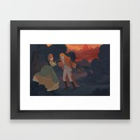 Ballad Of Reynardine Framed Art Print