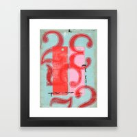 Two Hundred And Thirty-F… Framed Art Print
