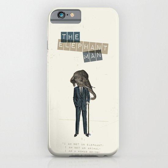 The elephant man iPhone & iPod Case
