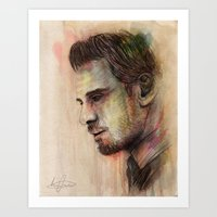 Michael Fassbender Art Print
