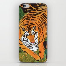 The wild beast is reasting iPhone & iPod Skin