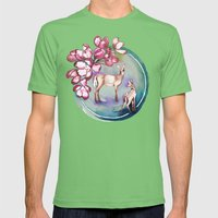 Deer Mens Fitted Tee Grass SMALL