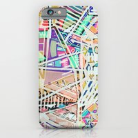 Geometric Abstract Lines… iPhone 6 Slim Case