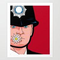 Pop Icon - Banksy Wink Art Print