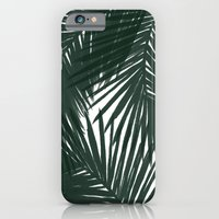 iPhone & iPod Case featuring Palms Green by Caitlin Workman