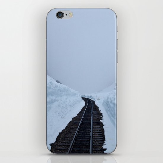 The winter pass iPhone & iPod Skin