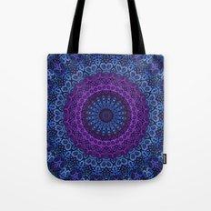 Twilight Mandala Tote Bag