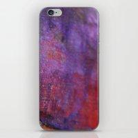 Red Vastness iPhone & iPod Skin