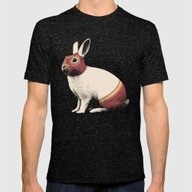 T-shirt featuring Lapin Catcheur (Rabbit W… by Speakerine / Florent…