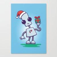 Ned's Christmas Canvas Print