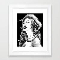 FDTD: Pandemonium Framed Art Print