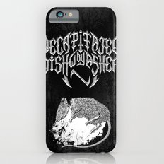 Decapitated by dishwasher II (black) iPhone 6 Slim Case