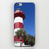 Habour Town Lighthouse iPhone & iPod Skin
