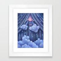 Rip Van Winkle in the Rain Framed Art Print