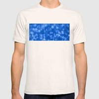 Ambient 4 Blue Mens Fitted Tee Natural SMALL