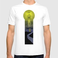 Beacon Mens Fitted Tee White SMALL
